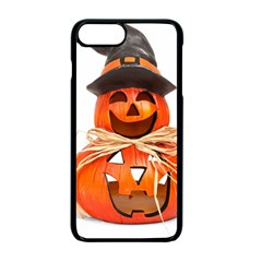 Funny Halloween Pumpkins Apple Iphone 7 Plus Seamless Case (black) by gothicandhalloweenstore