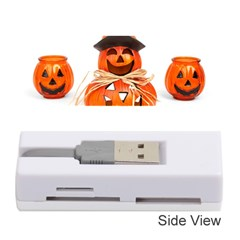 Funny Halloween Pumpkins Memory Card Reader (stick)  by gothicandhalloweenstore
