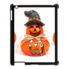 Funny Halloween Pumpkins Apple Ipad 3/4 Case (black) by gothicandhalloweenstore