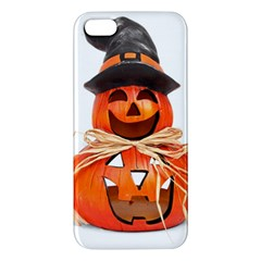 Funny Halloween Pumpkins Apple Iphone 5 Premium Hardshell Case by gothicandhalloweenstore
