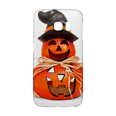 Funny Halloween Pumpkins Galaxy S6 Edge by gothicandhalloweenstore
