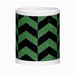 CHEVRON2 BLACK MARBLE & GREEN DENIM Morph Mugs Center