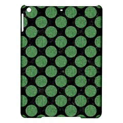 Circles2 Black Marble & Green Denim (r) Ipad Air Hardshell Cases by trendistuff