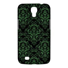 Damask1 Black Marble & Green Denim (r) Samsung Galaxy Mega 6 3  I9200 Hardshell Case by trendistuff