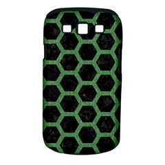 Hexagon2 Black Marble & Green Denim (r) Samsung Galaxy S Iii Classic Hardshell Case (pc+silicone) by trendistuff