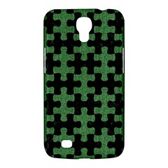 Puzzle1 Black Marble & Green Denim Samsung Galaxy Mega 6 3  I9200 Hardshell Case by trendistuff