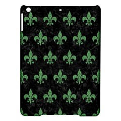 Royal1 Black Marble & Green Denim Ipad Air Hardshell Cases by trendistuff