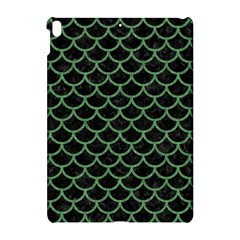 Scales1 Black Marble & Green Denim (r) Apple Ipad Pro 10 5   Hardshell Case by trendistuff