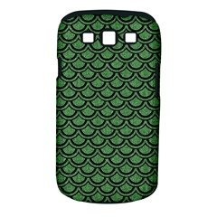 Scales2 Black Marble & Green Denim Samsung Galaxy S Iii Classic Hardshell Case (pc+silicone) by trendistuff