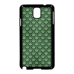 Scales2 Black Marble & Green Denim Samsung Galaxy Note 3 Neo Hardshell Case (black) by trendistuff