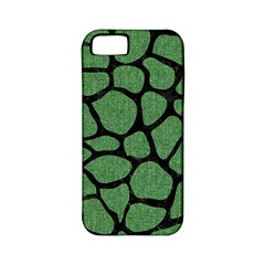 Skin1 Black Marble & Green Denim (r) Apple Iphone 5 Classic Hardshell Case (pc+silicone) by trendistuff