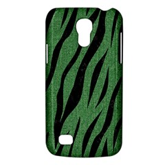 Skin3 Black Marble & Green Denim Galaxy S4 Mini by trendistuff