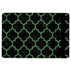 Tile1 Black Marble & Green Denim (r) Ipad Air 2 Flip by trendistuff