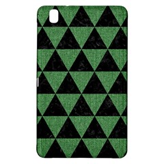 Triangle3 Black Marble & Green Denim Samsung Galaxy Tab Pro 8 4 Hardshell Case by trendistuff