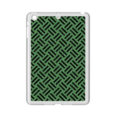 Woven2 Black Marble & Green Denim Ipad Mini 2 Enamel Coated Cases by trendistuff