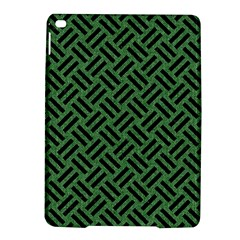 Woven2 Black Marble & Green Denim Ipad Air 2 Hardshell Cases by trendistuff