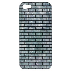 Brick1 Black Marble & Ice Crystals Apple Iphone 5 Hardshell Case by trendistuff