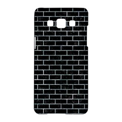 Brick1 Black Marble & Ice Crystals (r) Samsung Galaxy A5 Hardshell Case  by trendistuff