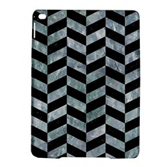 Chevron1 Black Marble & Ice Crystals Ipad Air 2 Hardshell Cases by trendistuff