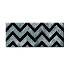 Chevron9 Black Marble & Ice Crystals Cosmetic Storage Cases