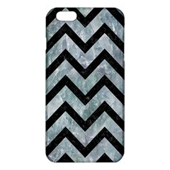 Chevron9 Black Marble & Ice Crystals Iphone 6 Plus/6s Plus Tpu Case by trendistuff