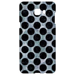 Circles2 Black Marble & Ice Crystals Samsung C9 Pro Hardshell Case  by trendistuff
