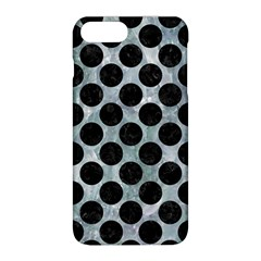 Circles2 Black Marble & Ice Crystals Apple Iphone 8 Plus Hardshell Case by trendistuff