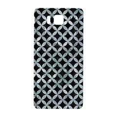 Circles3 Black Marble & Ice Crystals (r) Samsung Galaxy Alpha Hardshell Back Case by trendistuff
