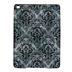 Damask1 Black Marble & Ice Crystals Ipad Air 2 Hardshell Cases by trendistuff