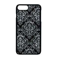 Damask1 Black Marble & Ice Crystals (r) Apple Iphone 8 Plus Seamless Case (black) by trendistuff