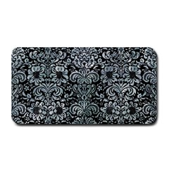 Damask2 Black Marble & Ice Crystals (r) Medium Bar Mats by trendistuff