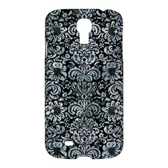 Damask2 Black Marble & Ice Crystals (r) Samsung Galaxy S4 I9500/i9505 Hardshell Case by trendistuff