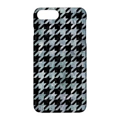 Houndstooth1 Black Marble & Ice Crystals Apple Iphone 8 Plus Hardshell Case by trendistuff