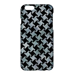 Houndstooth2 Black Marble & Ice Crystals Apple Iphone 6 Plus/6s Plus Hardshell Case by trendistuff