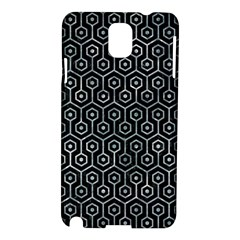 Hexagon1 Black Marble & Ice Crystals (r) Samsung Galaxy Note 3 N9005 Hardshell Case by trendistuff