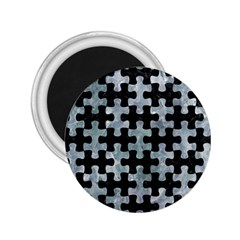 Puzzle1 Black Marble & Ice Crystals 2 25  Magnets by trendistuff