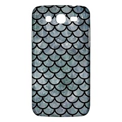 Scales1 Black Marble & Ice Crystals Samsung Galaxy Mega 5 8 I9152 Hardshell Case  by trendistuff