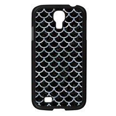 Scales1 Black Marble & Ice Crystals (r) Samsung Galaxy S4 I9500/ I9505 Case (black) by trendistuff