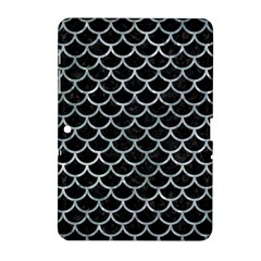 Scales1 Black Marble & Ice Crystals (r) Samsung Galaxy Tab 2 (10 1 ) P5100 Hardshell Case  by trendistuff