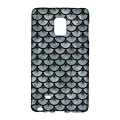 Scales3 Black Marble & Ice Crystals Galaxy Note Edge by trendistuff