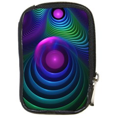 Beautiful Rainbow Marble Fractals In Hyperspace Compact Camera Cases by jayaprime