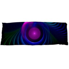 Beautiful Rainbow Marble Fractals In Hyperspace Body Pillow Case (dakimakura) by jayaprime