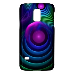 Beautiful Rainbow Marble Fractals In Hyperspace Galaxy S5 Mini by jayaprime