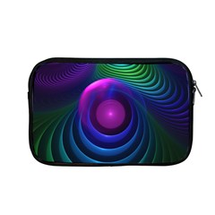 Beautiful Rainbow Marble Fractals In Hyperspace Apple Macbook Pro 13  Zipper Case by jayaprime