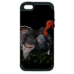 Thanksgiving Turkey Apple Iphone 5 Hardshell Case (pc+silicone)