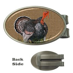 Thanksgiving Turkey Money Clips (oval)  by Valentinaart