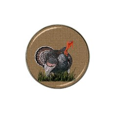 Thanksgiving Turkey Hat Clip Ball Marker (10 Pack) by Valentinaart