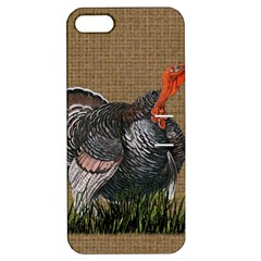 Thanksgiving Turkey Apple Iphone 5 Hardshell Case With Stand