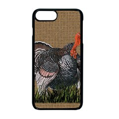 Thanksgiving Turkey Apple Iphone 7 Plus Seamless Case (black) by Valentinaart