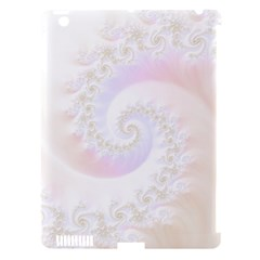 Mother Of Pearls Luxurious Fractal Spiral Necklace Apple Ipad 3/4 Hardshell Case (compatible With Smart Cover) by jayaprime